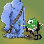 Star Wars version Monstres et compagnie (Monster Inc.)