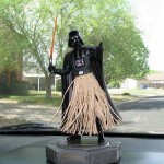 Figurine de Hula Dance Darth Vader (aka Dark Vador)