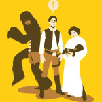 Image humoristique de StarWars version Cartoon