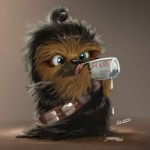 Version Babies de Chewie (Chewbacca)