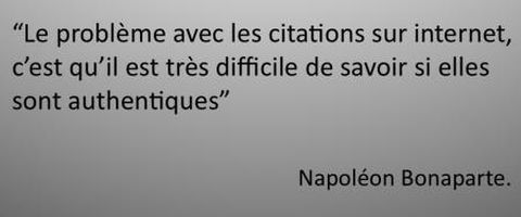 citation de Napoléon