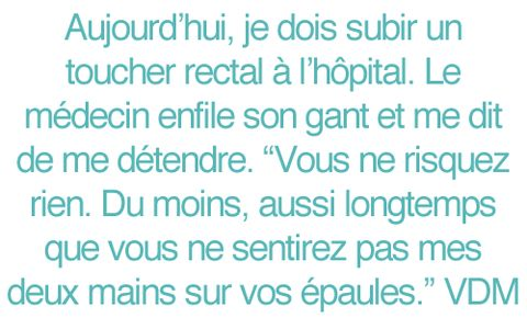 citation toucher rectal