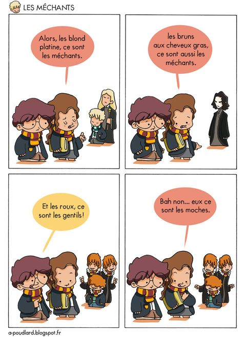 bande dessinée harry potter