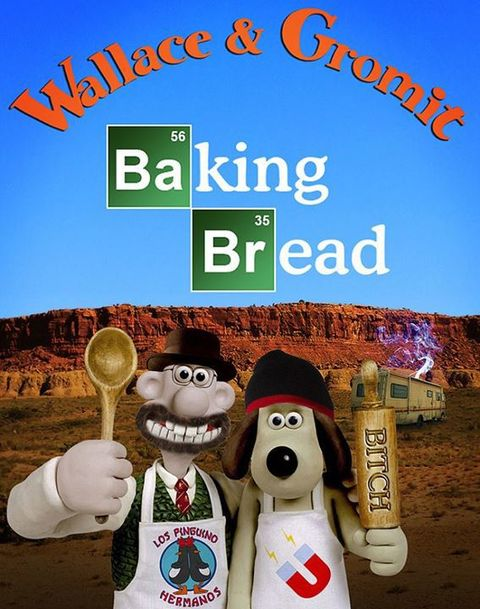 wallace et gromit parodient breaking bad